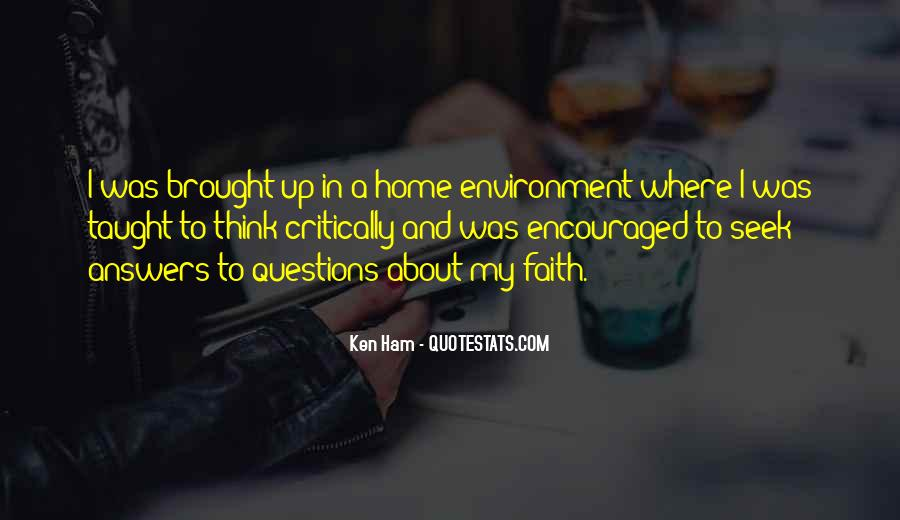 Quotes About Answers #35906