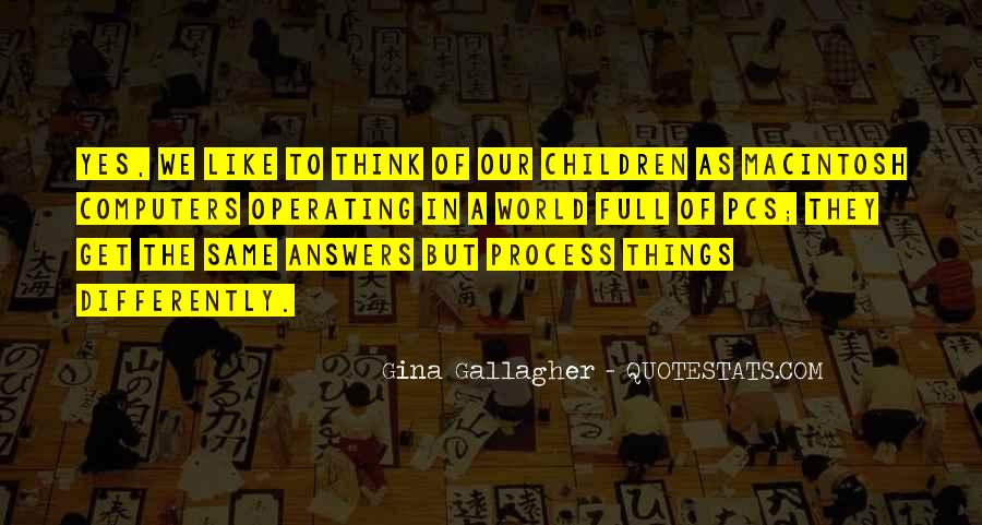 Quotes About Answers #37448