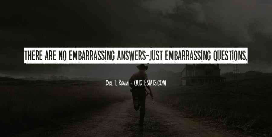 Quotes About Answers #38603