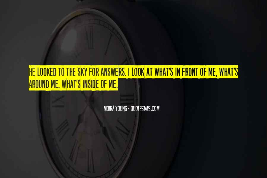 Quotes About Answers #41866