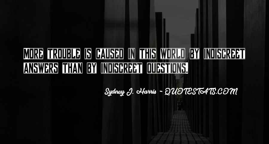 Quotes About Answers #6019