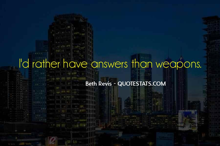 Quotes About Answers #8590