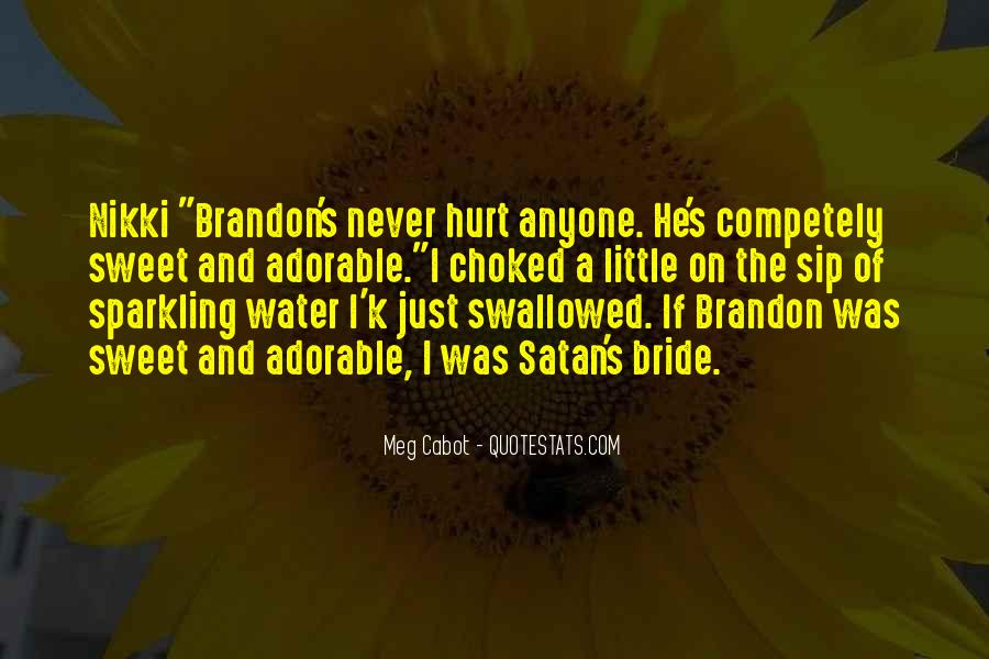 Quotes About Sparkling Water #1137542