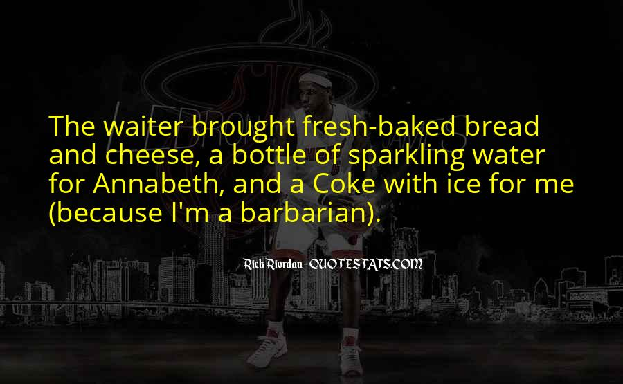 Quotes About Sparkling Water #962284