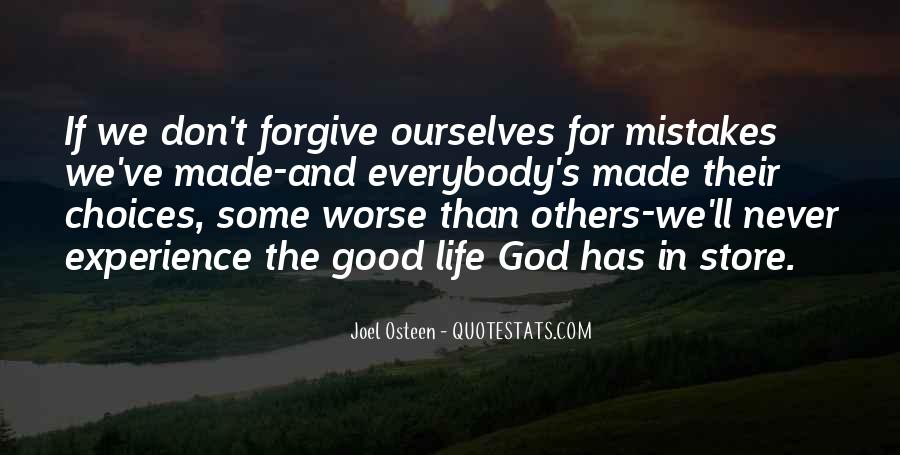Quotes About Mistakes And Choices #1529458