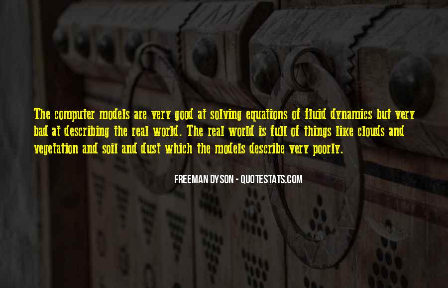 Quotes About Fluid Dynamics #280202