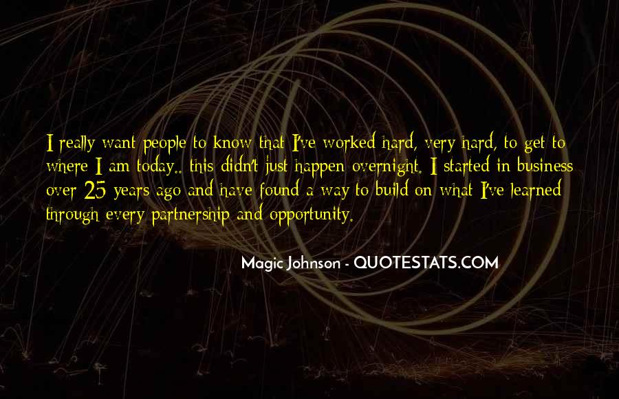 Quotes About Opportunity And Hard Work #926790