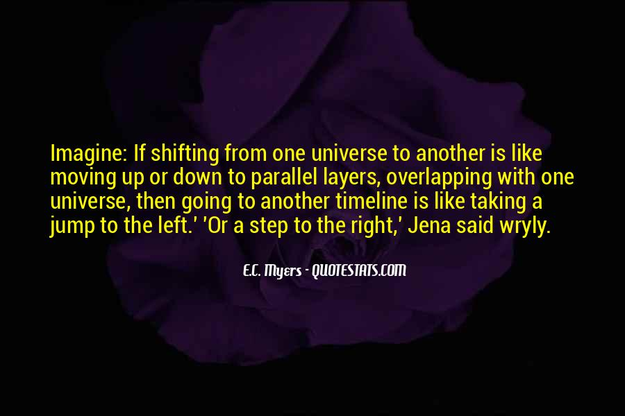 Quotes About Parallel Universe #107347