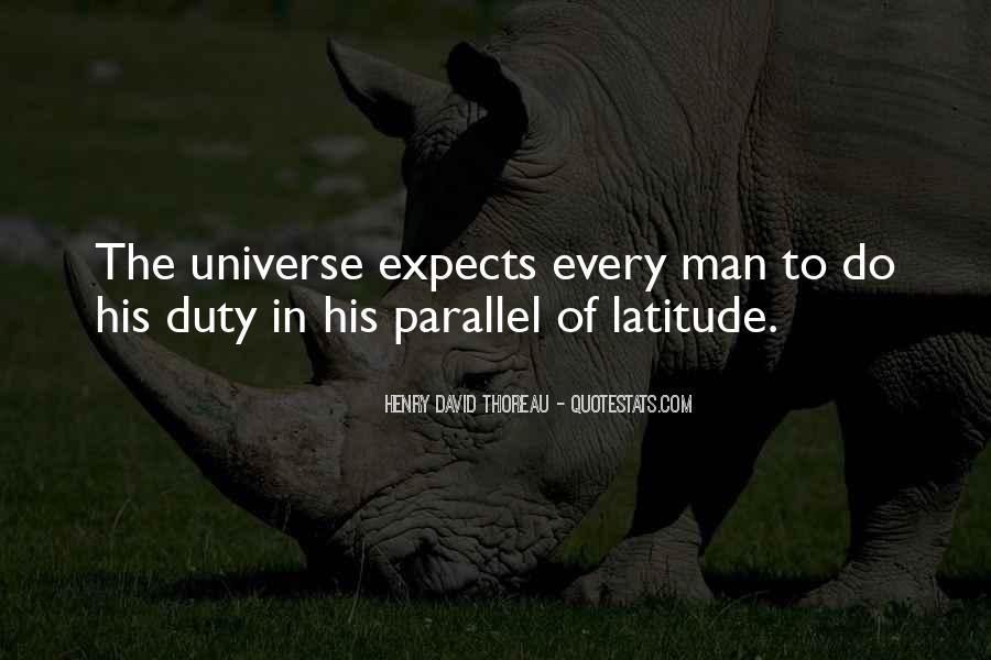 Quotes About Parallel Universe #1312134