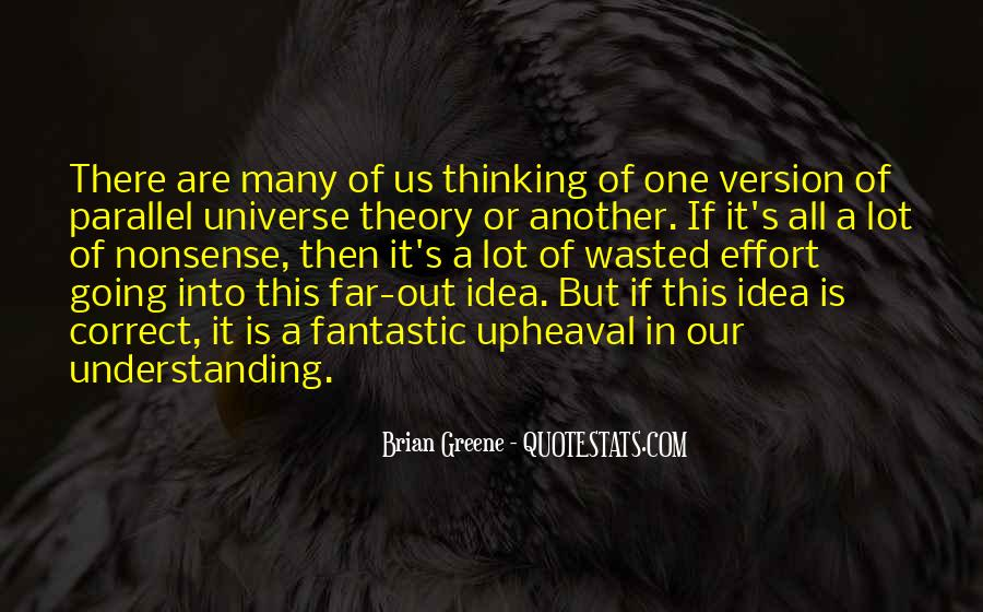 Quotes About Parallel Universe #1450799