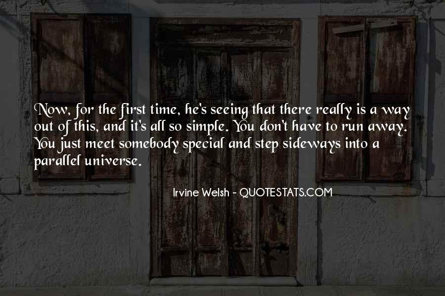 Quotes About Parallel Universe #1601472