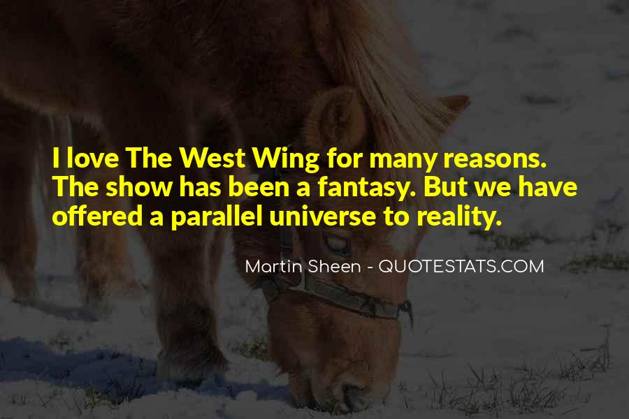 Quotes About Parallel Universe #1662245