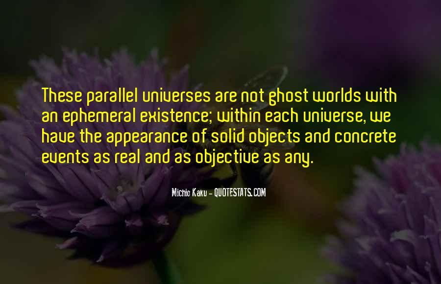 Quotes About Parallel Universe #47141