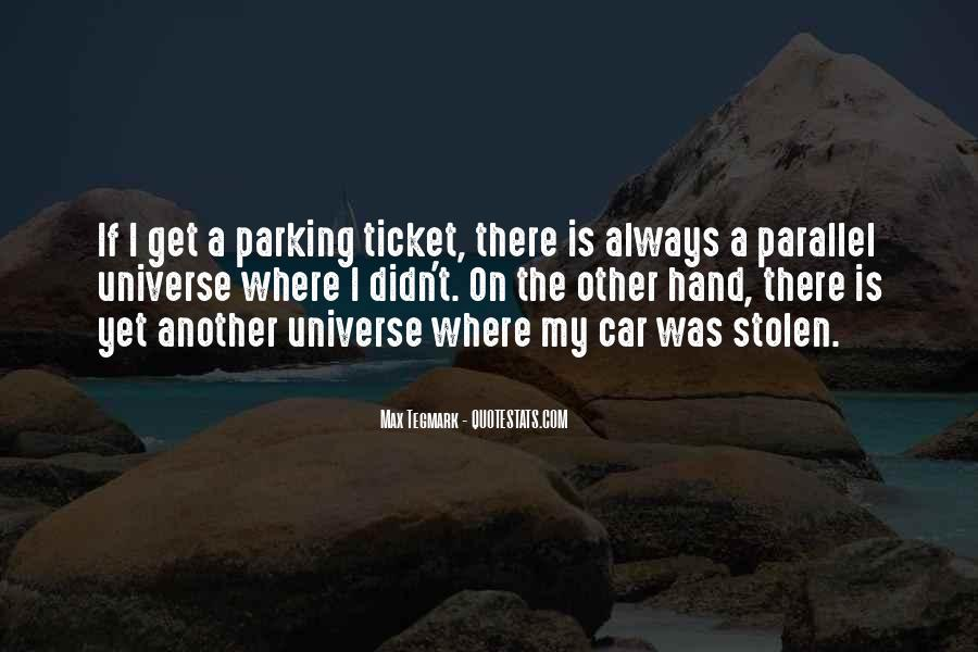 Quotes About Parallel Universe #54382