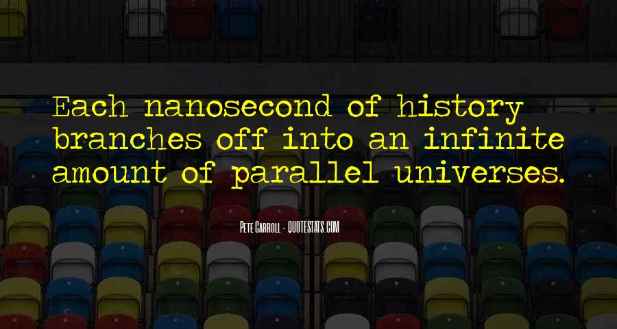 Quotes About Parallel Universe #575079