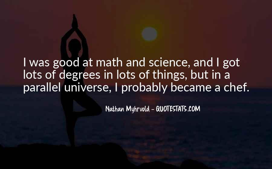 Quotes About Parallel Universe #622238