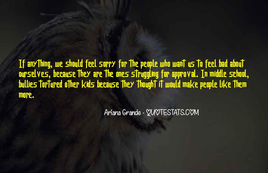 Quotes About Bullies In School #1099347
