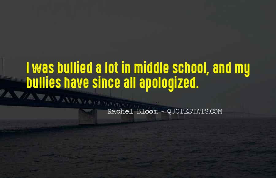 Quotes About Bullies In School #174255