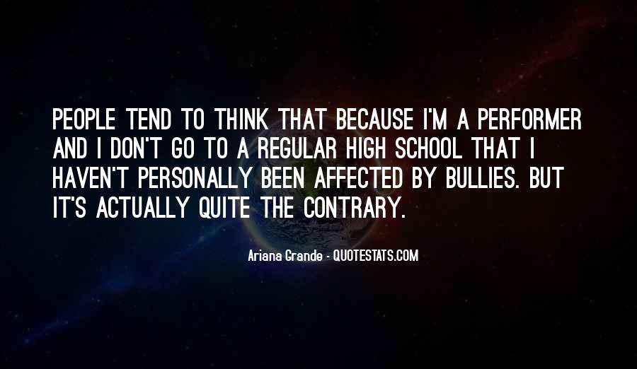 Quotes About Bullies In School #1759706