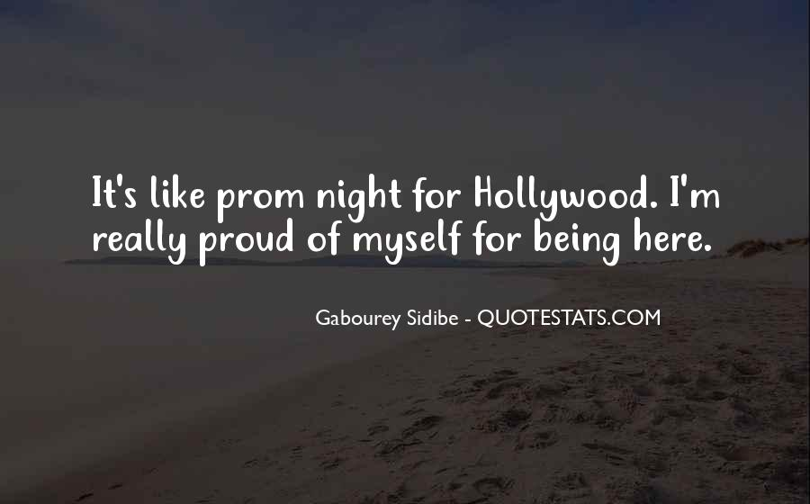 Quotes About Prom Night #123477