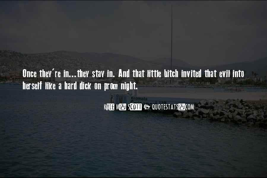 Quotes About Prom Night #1293105
