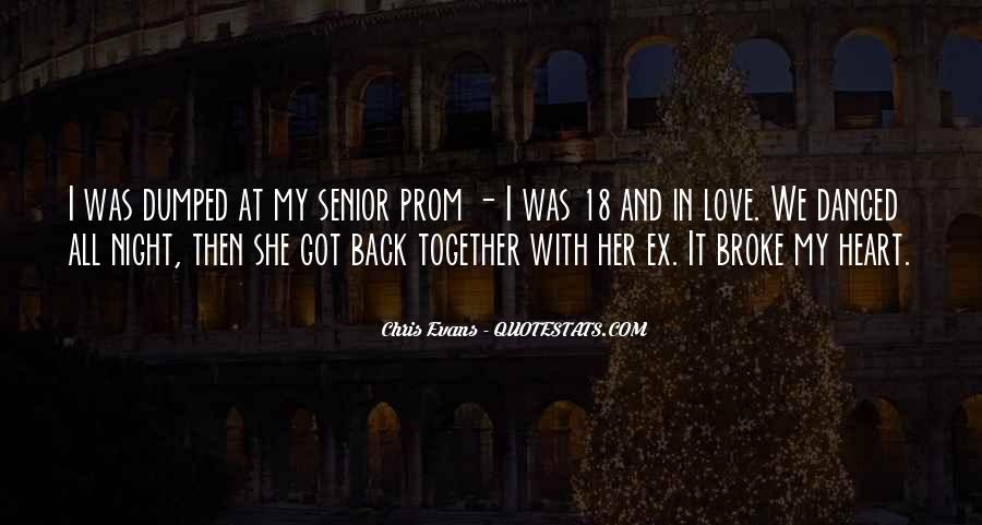 Quotes About Prom Night #1751277