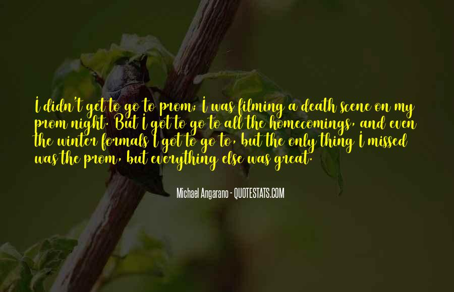 Quotes About Prom Night #369396