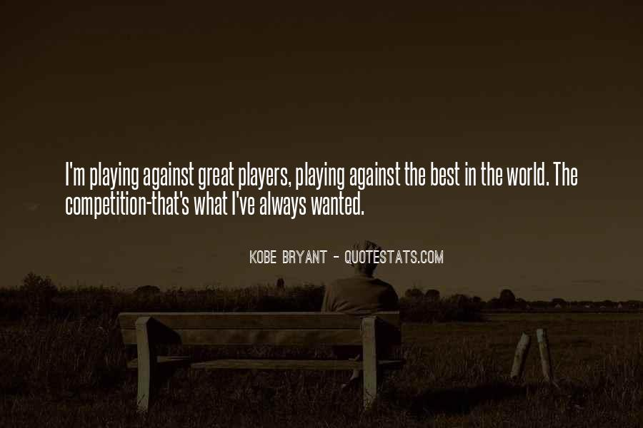 Quotes About Kobe #146703