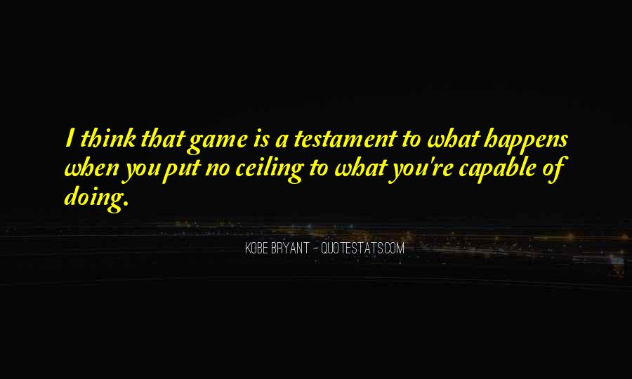 Quotes About Kobe #444516