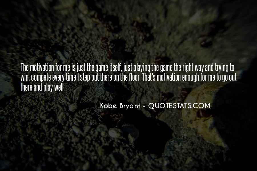 Quotes About Kobe #629779