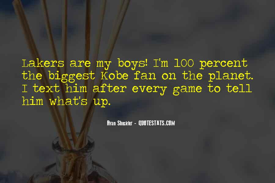 Quotes About Kobe #630480