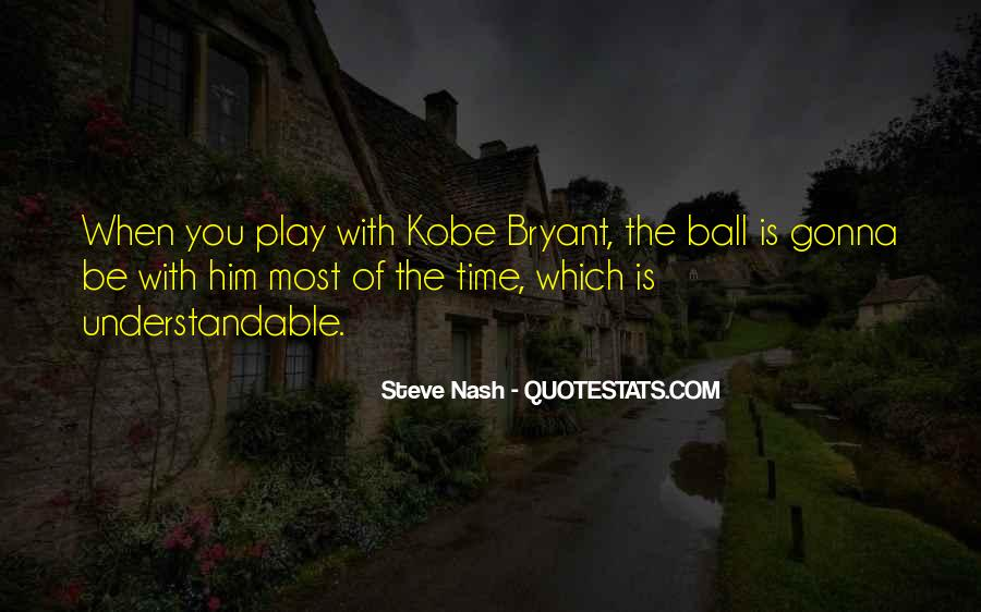 Quotes About Kobe #687820