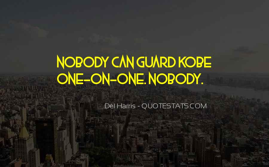Quotes About Kobe #867684
