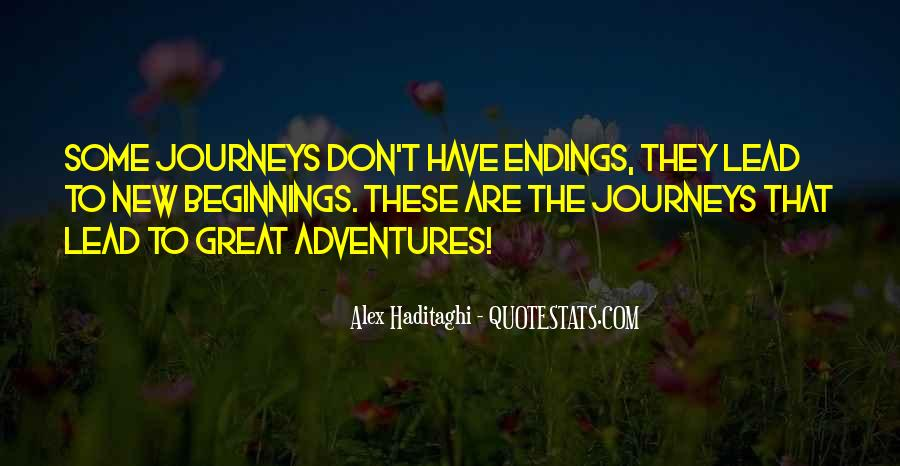 Quotes About Journeys And Adventures #1623140