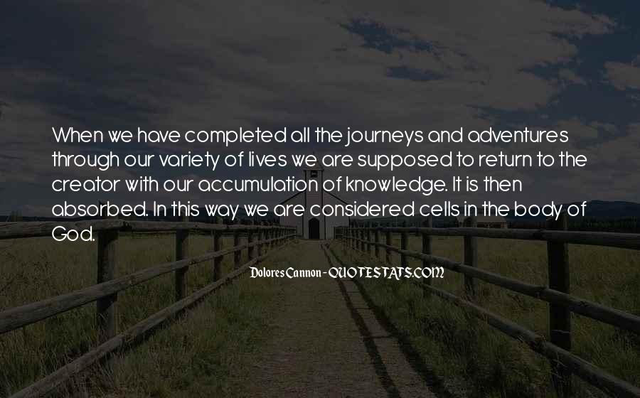 Quotes About Journeys And Adventures #732725
