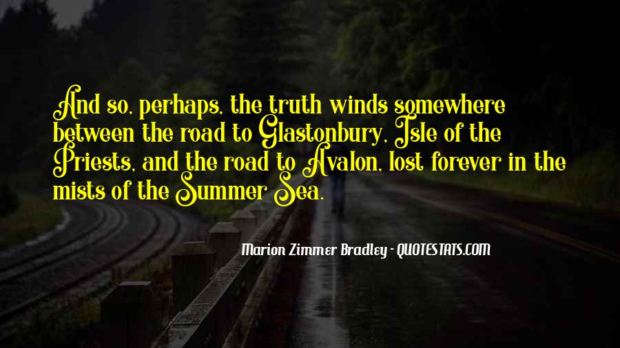 Quotes About Road To Forever #1528415
