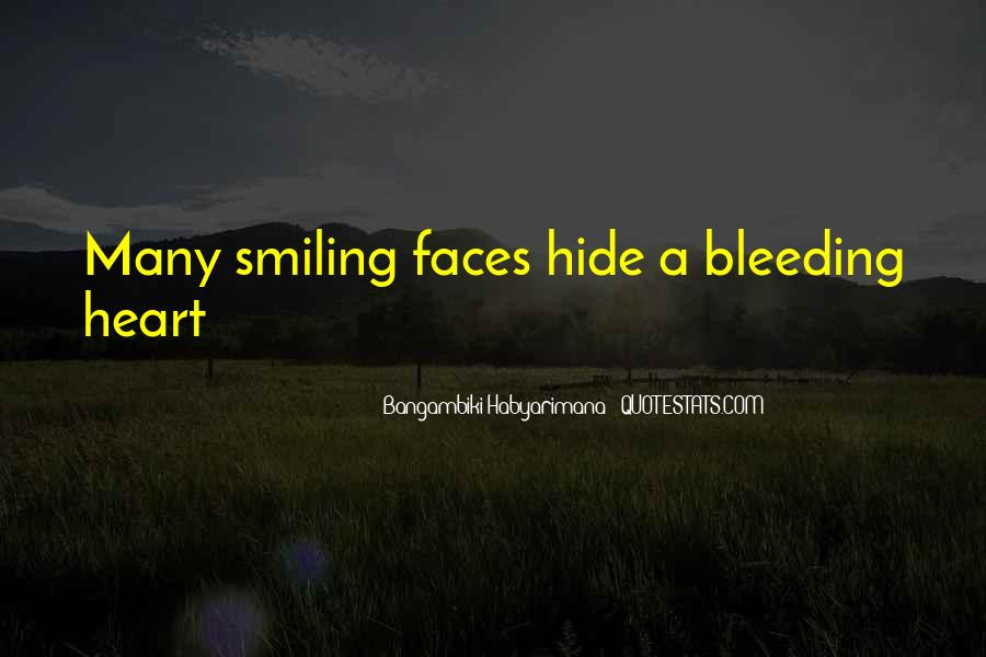 Quotes About A Smiley Face #1806451