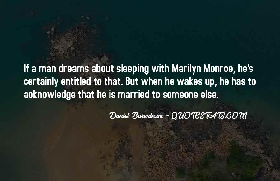 Quotes About Dreams While Sleeping #200290