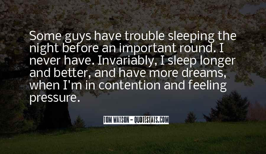 Quotes About Dreams While Sleeping #212172