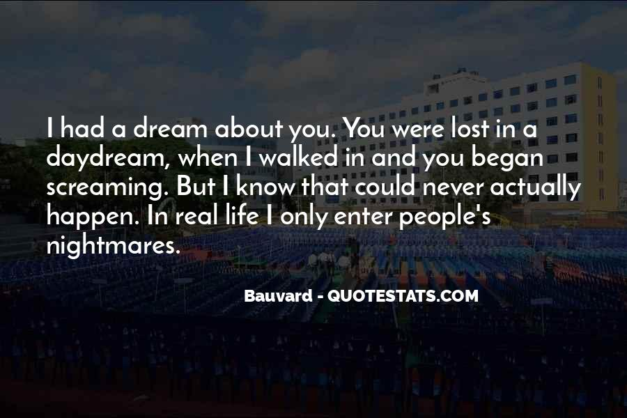 Quotes About Dreams While Sleeping #27418