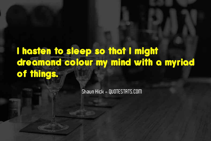 Quotes About Dreams While Sleeping #315823