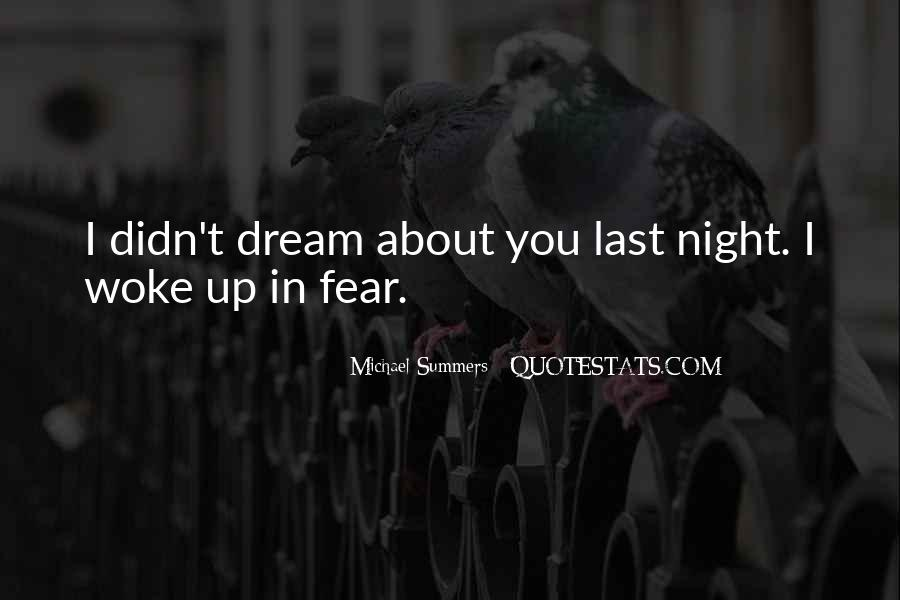 Quotes About Dreams While Sleeping #573794