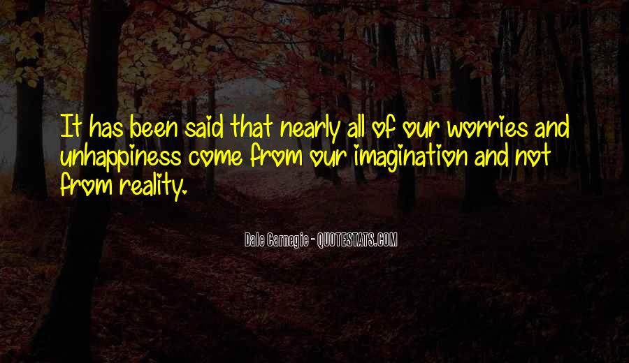 Quotes About Reality And Imagination #233488
