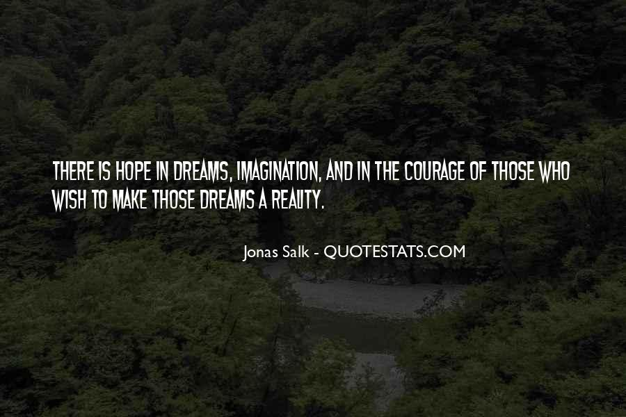 Quotes About Reality And Imagination #648631
