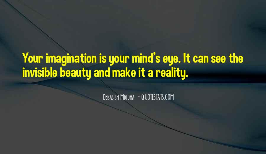 Quotes About Reality And Imagination #911942