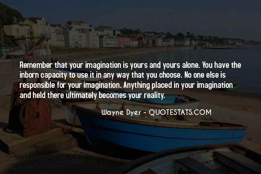Quotes About Reality And Imagination #972265