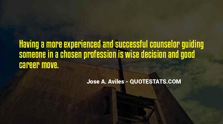 Quotes About Career Counseling #1868963