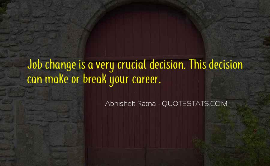 Quotes About Career Counseling #926171