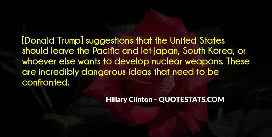 Quotes About The South Pacific #1024894