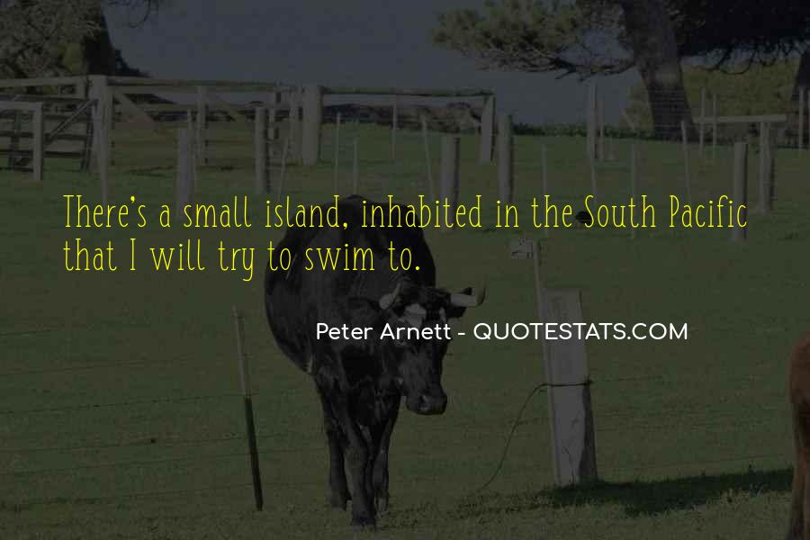 Quotes About The South Pacific #1159482
